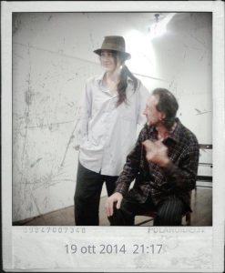 Il Gabbiano di Cechov con Silvia Garbuggino e Gaetano Ventriglia  foto lucia baldini
